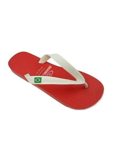 Brasileras Plaj Terliği Kırmızı